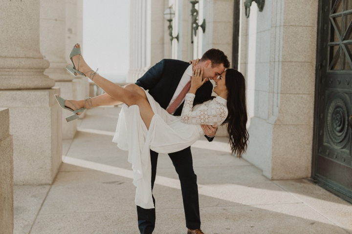 Kelsi and Branson- Elegant Capitol Shoot